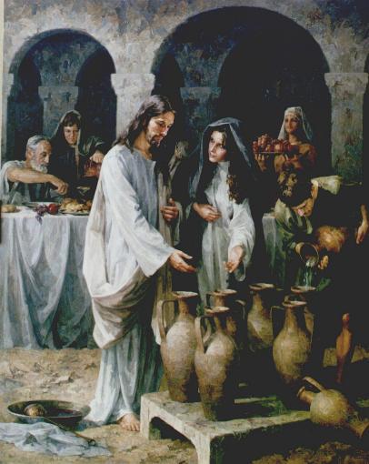 Virgen Matrimonio Biblia : º misterio luminoso