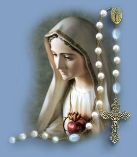 imagen de la virgen del rosario:
